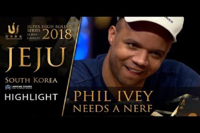 Hand Highlight Đỉnh Cao Của Phil Ivey tại Triton Jeju 2018